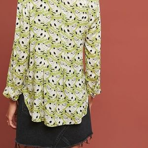 Anthropologie Tops - NEW Anthropologie Colloquial Pintucked Buttondown